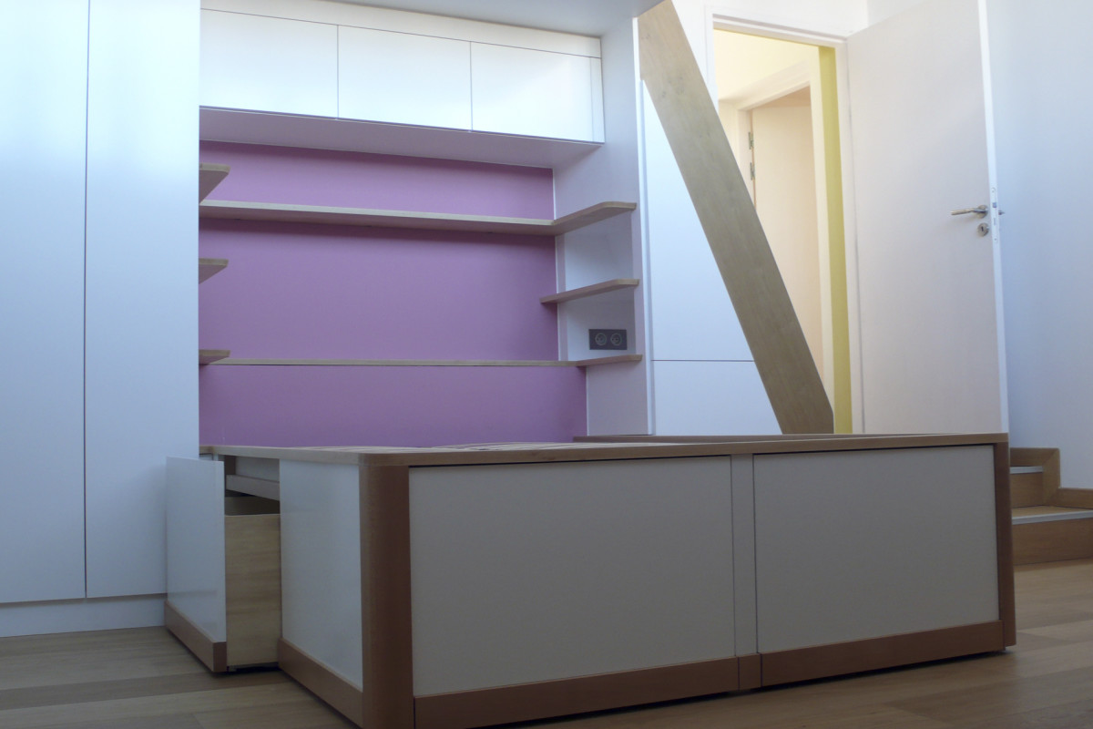 lit chambre rose2