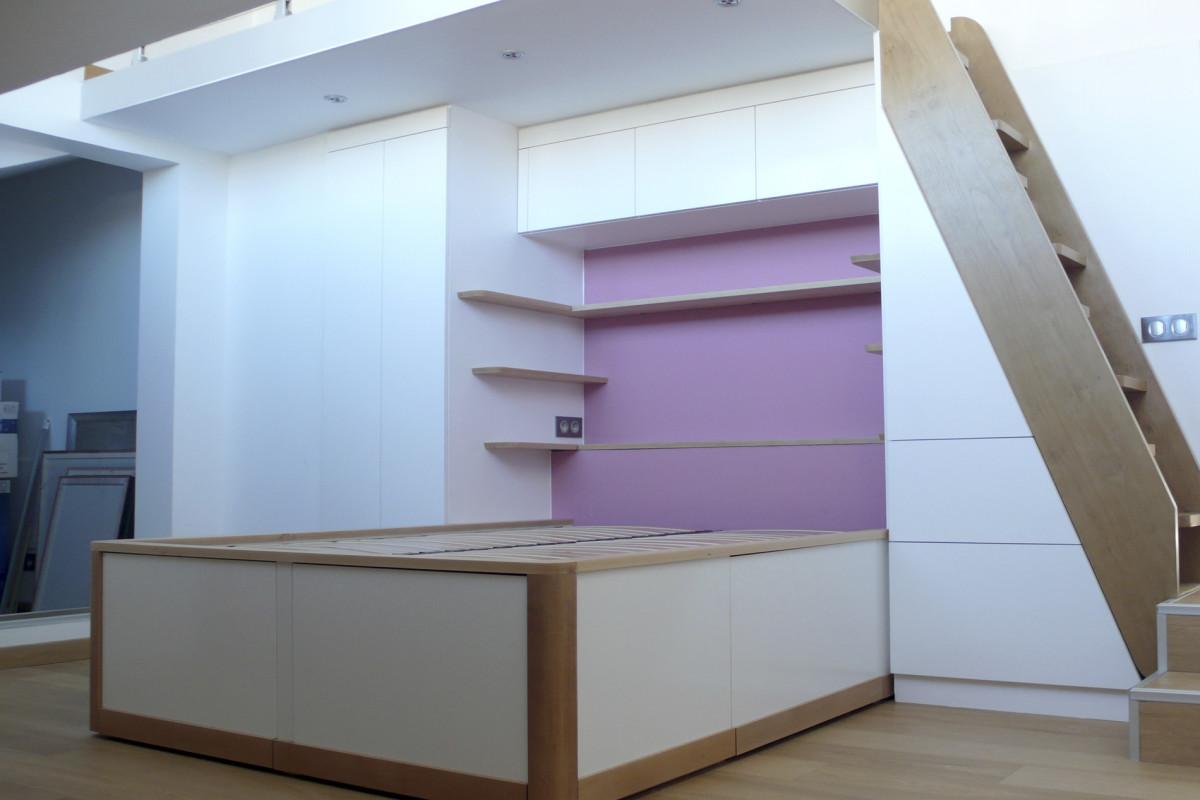lit chambre rose3