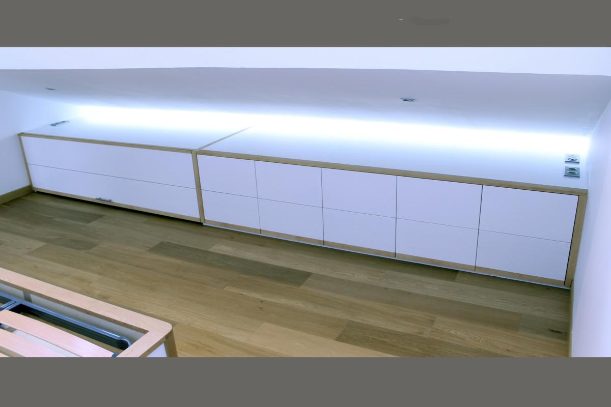vincent criniere rangement sous pente. Black Bedroom Furniture Sets. Home Design Ideas