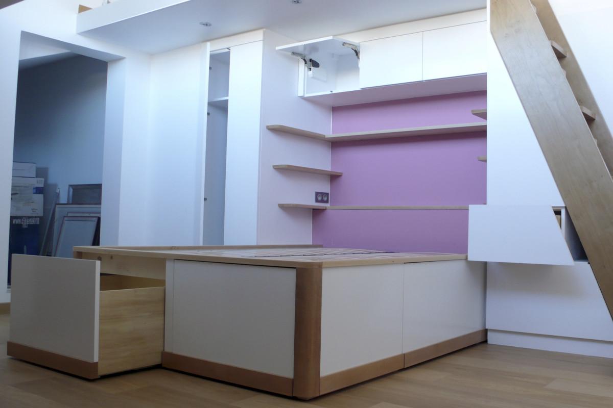 lit chambre rose4
